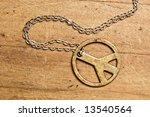 Peace Symbol Necklace.