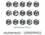 a collection of fifteen...   Shutterstock .eps vector #1354059431