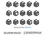 a collection of fifteen...   Shutterstock .eps vector #1354059434