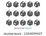 a collection of fifteen...   Shutterstock .eps vector #1354059437