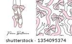 design set of print with... | Shutterstock .eps vector #1354095374