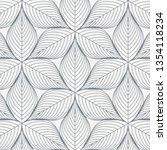 linear vector pattern  ... | Shutterstock .eps vector #1354118234