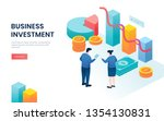 business investment solutions...   Shutterstock .eps vector #1354130831