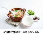nutritious and delicious... | Shutterstock . vector #1354209137