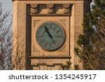 Clock Tower Close Up At The...