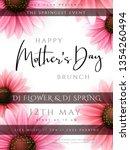 vector illustration of mother's ... | Shutterstock .eps vector #1354260494