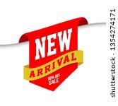 new arrival labels. vector...   Shutterstock .eps vector #1354274171