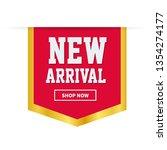 new arrival labels. vector...   Shutterstock .eps vector #1354274177