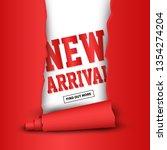 new arrival labels. vector...   Shutterstock .eps vector #1354274204