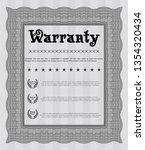 grey retro vintage warranty...   Shutterstock .eps vector #1354320434