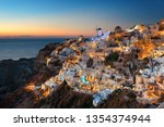 Santorini Skyline At Night...