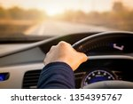 safe drive  speed control and... | Shutterstock . vector #1354395767
