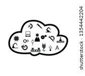 cloud  engineering concept | Shutterstock .eps vector #1354442204