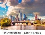 frankfurt am main  germany  ... | Shutterstock . vector #1354447811