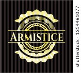 armistice gold shiny emblem   Shutterstock .eps vector #1354461077