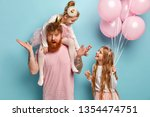 family  parent  holiday concept.... | Shutterstock . vector #1354474751