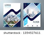 annual report brochure flyer... | Shutterstock .eps vector #1354527611