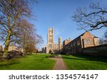 Ely Cathedral In Spring With...