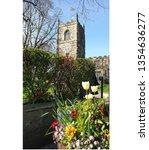 Spring Flower Planter In The...