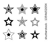 star minimal vector icons...