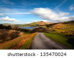 classic british landscape at... | Shutterstock . vector #135470024