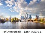 frankfurt am main  germany  ... | Shutterstock . vector #1354706711
