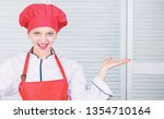 lady adorable chef teach... | Shutterstock . vector #1354710164