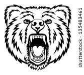 a bear head logo. this is...