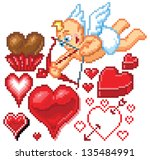 Heart Shape Illustrations Of...