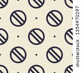 seamless endless repeating flat ... | Shutterstock .eps vector #1354970297