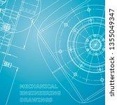 blueprint  sketch. vector... | Shutterstock .eps vector #1355049347