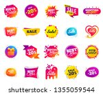 sale banner. special offer... | Shutterstock .eps vector #1355059544
