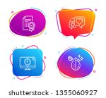 seo timer  heart and... | Shutterstock .eps vector #1355060927