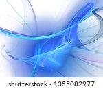 digital abstract fractal... | Shutterstock . vector #1355082977