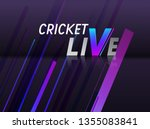 creative poster or banner...   Shutterstock .eps vector #1355083841