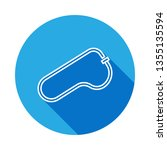 race track icon with long... | Shutterstock . vector #1355135594