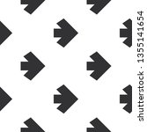 arrows seamless pattern of... | Shutterstock .eps vector #1355141654