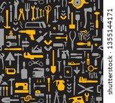 pattern seamless industrial... | Shutterstock .eps vector #1355144171