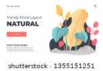 white modern flat design... | Shutterstock .eps vector #1355151251