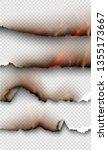 transparent design burning...   Shutterstock .eps vector #1355173667