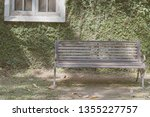 steel chairs placed in the... | Shutterstock . vector #1355227757
