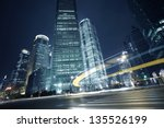 bottom angle shooting highway... | Shutterstock . vector #135526199