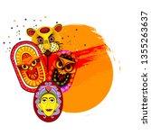 pahela baishakh or bangla...   Shutterstock .eps vector #1355263637
