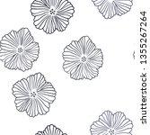 dark blue vector seamless...   Shutterstock .eps vector #1355267264