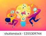 marketing and branding ... | Shutterstock .eps vector #1355309744