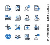 medical   healthcare services... | Shutterstock .eps vector #1355322617
