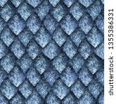 Seamless Texture Of Dragon...