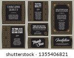 vector set for creating...   Shutterstock .eps vector #1355406821