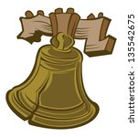bell,bronze,cartoon,icon,icon vector,illustration,liberty bell,object,vector