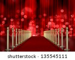 Red Carpet Entrance With The...